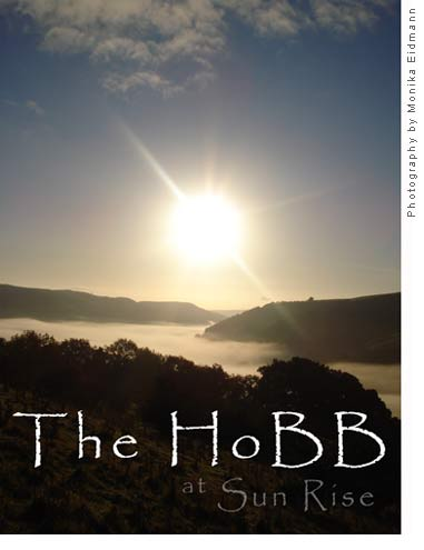 Sunrise over the HoBB