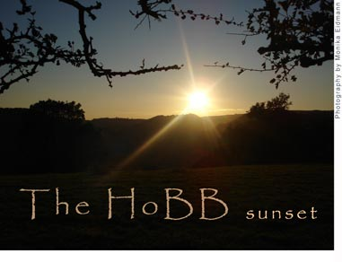 Sunset over the HoBB