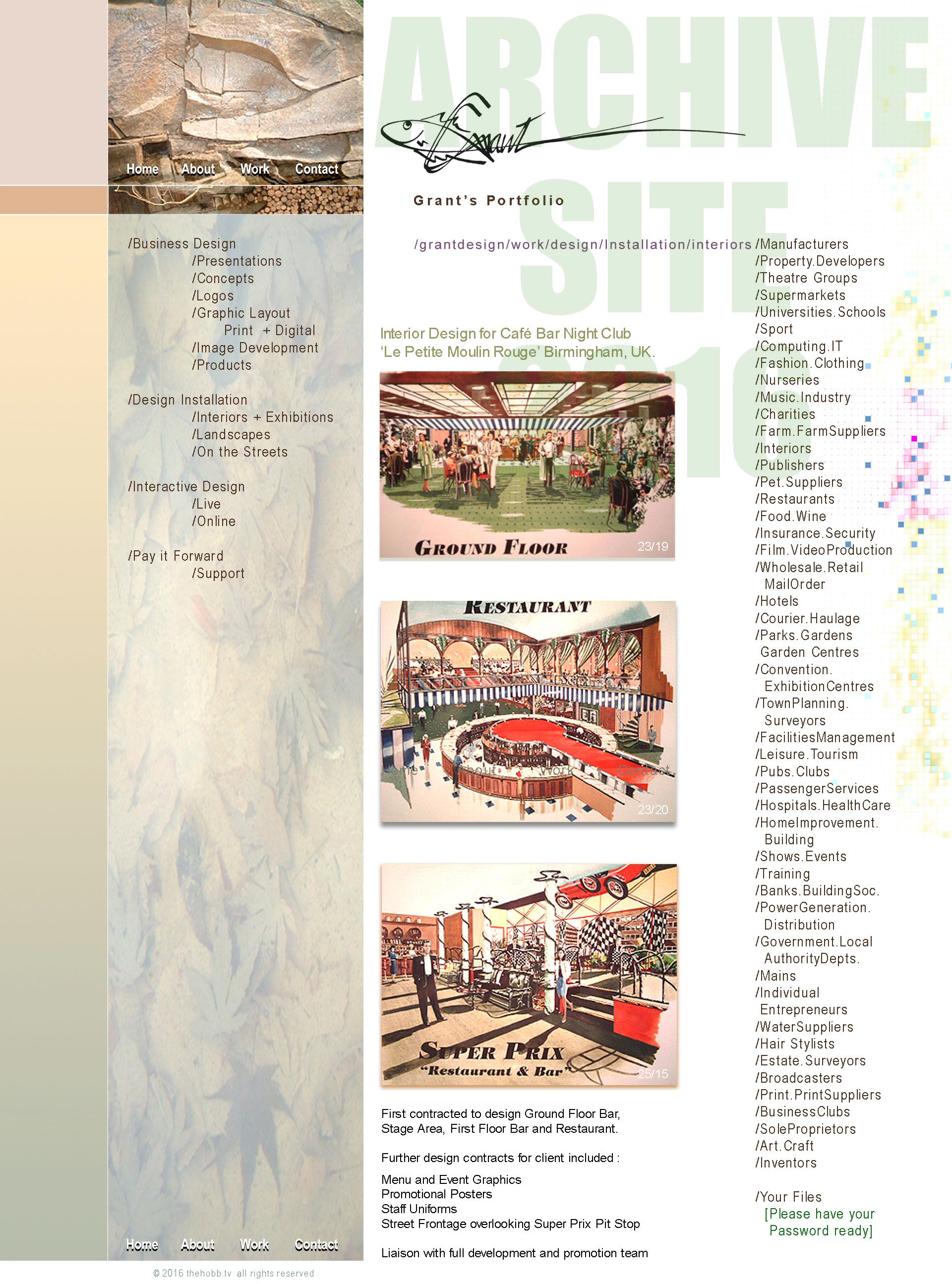 Grant / restaurant Design
